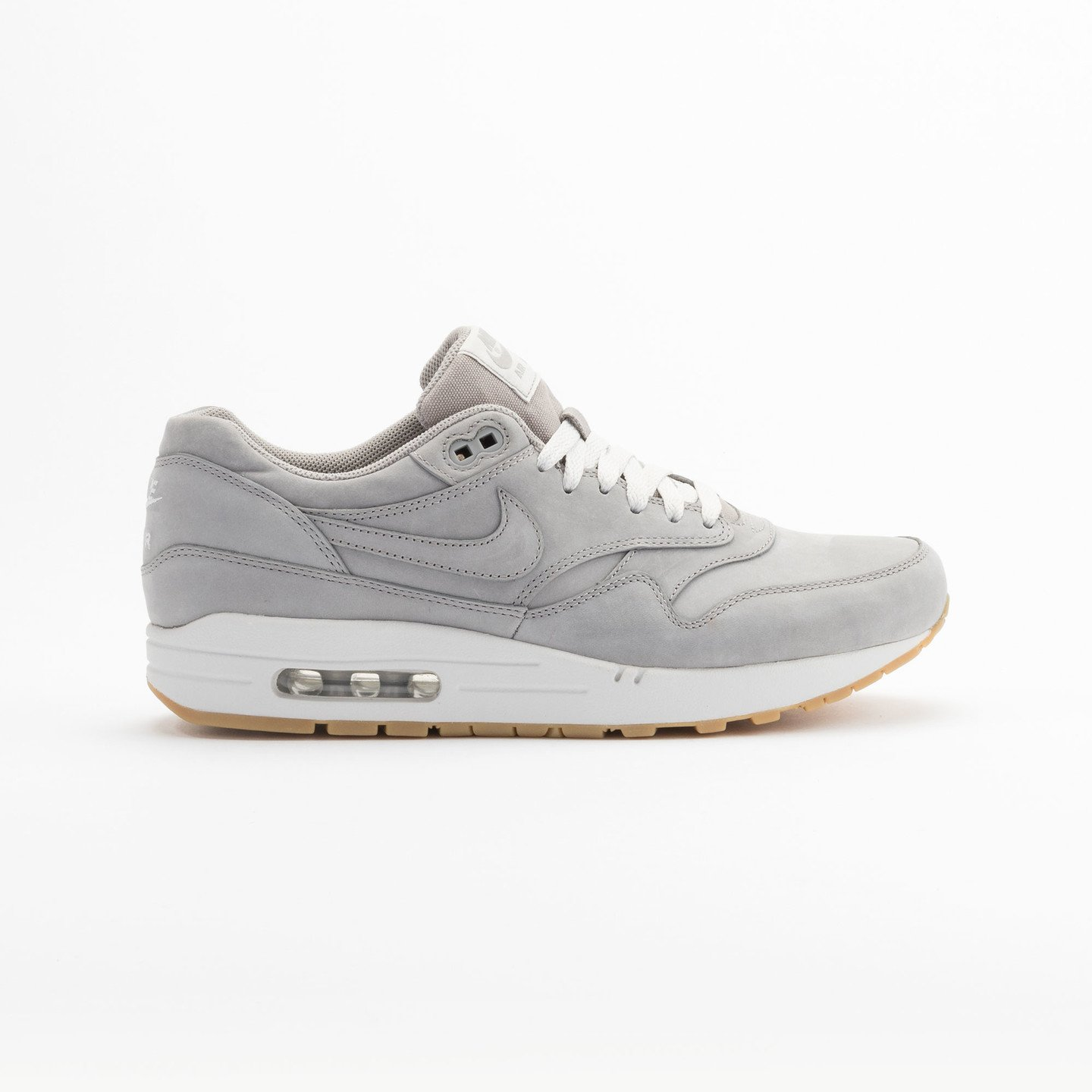 Nike Air Max Leather 1 Premium Medium Grey 705282-005-44.5