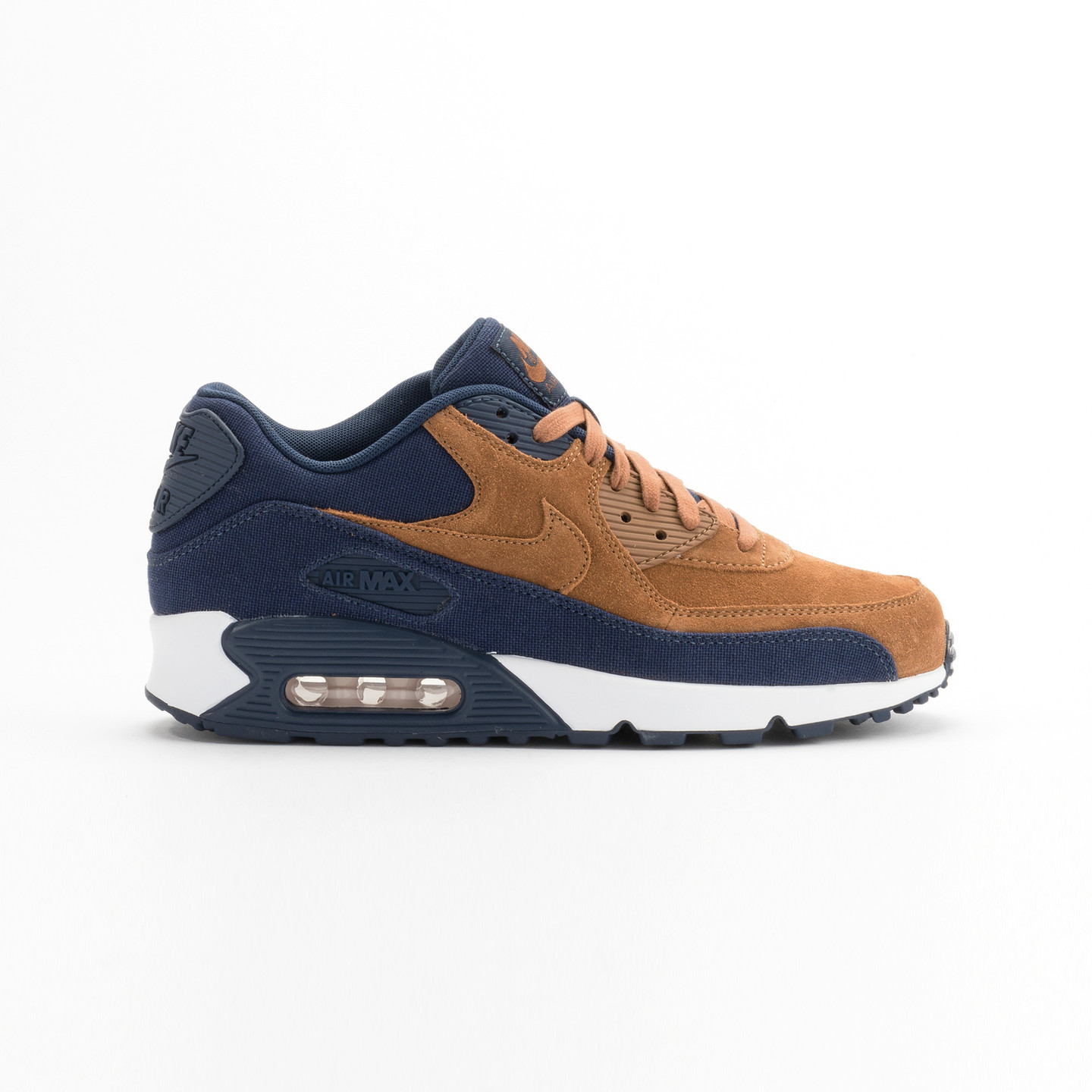 Nike Air Max 90 Premium Ale Brown / Midnight Navy 700155-201-46