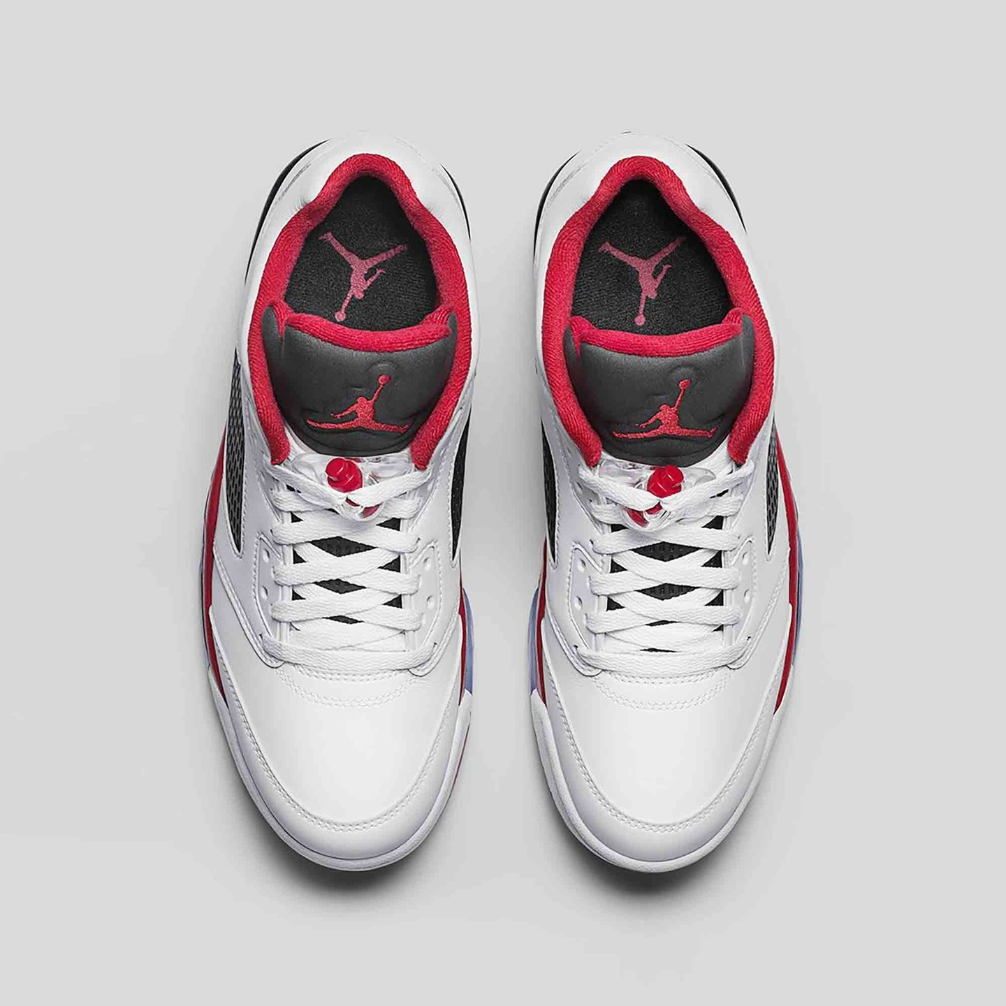 Jordan Air Jordan 5 Low Retro 'Fire Red' White / Fire Red / Black 819171-101-44.5