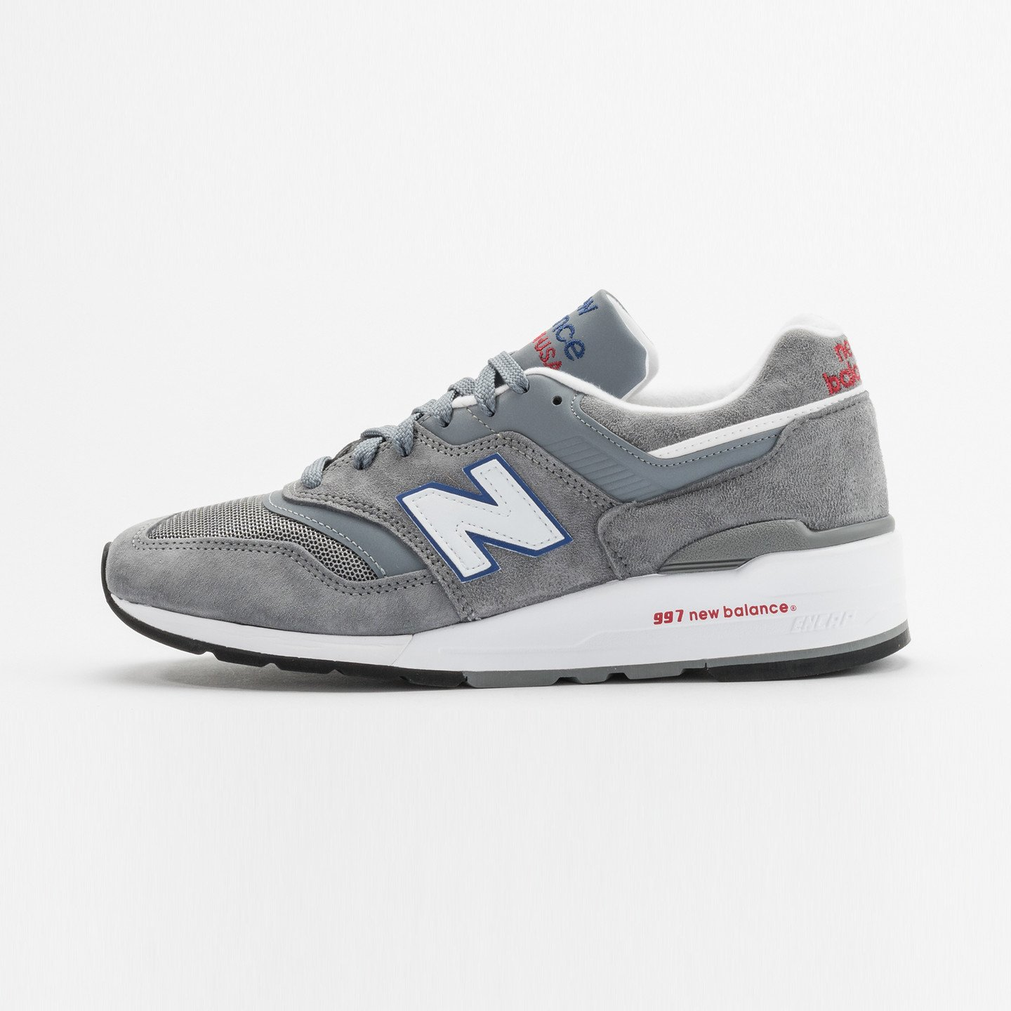 New Balance M997 Made in USA Grey / Blue / Red M997CNR-41.5