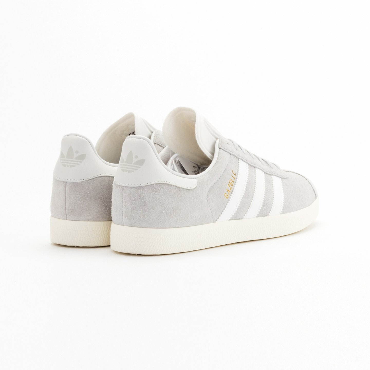 Adidas Gazelle Clear Onyx / White / Gold Metallic S76221-41.33