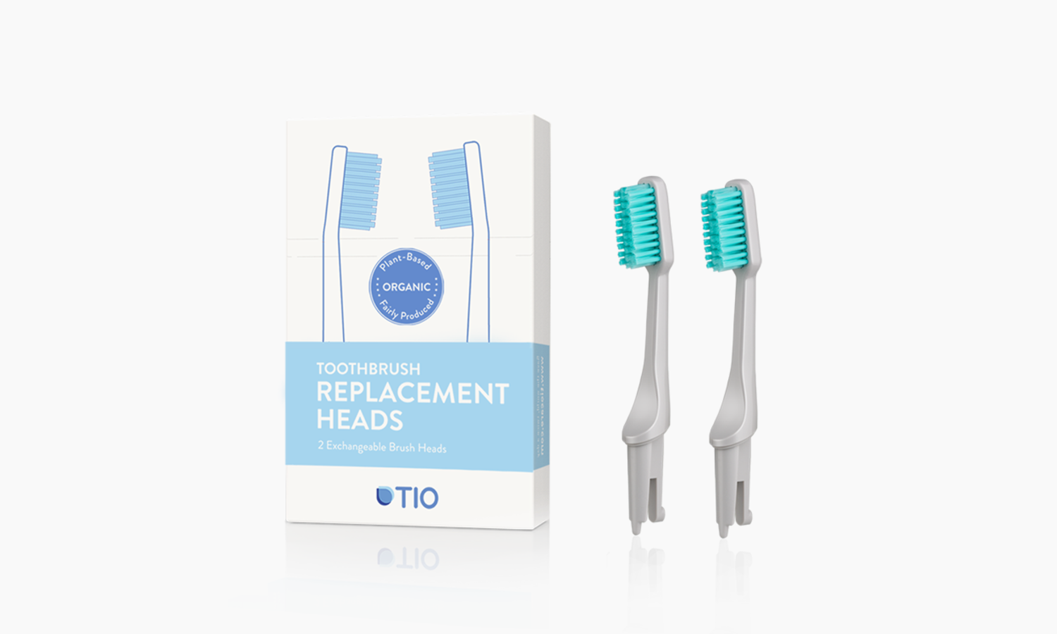 TIO Replaceable heads | TIO Replaceable heads (double pack) | Artikelnummer: 02-04E