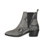 CRICKIT-Chelsea Boot Stiefelette-DIANA Beige mit Snake