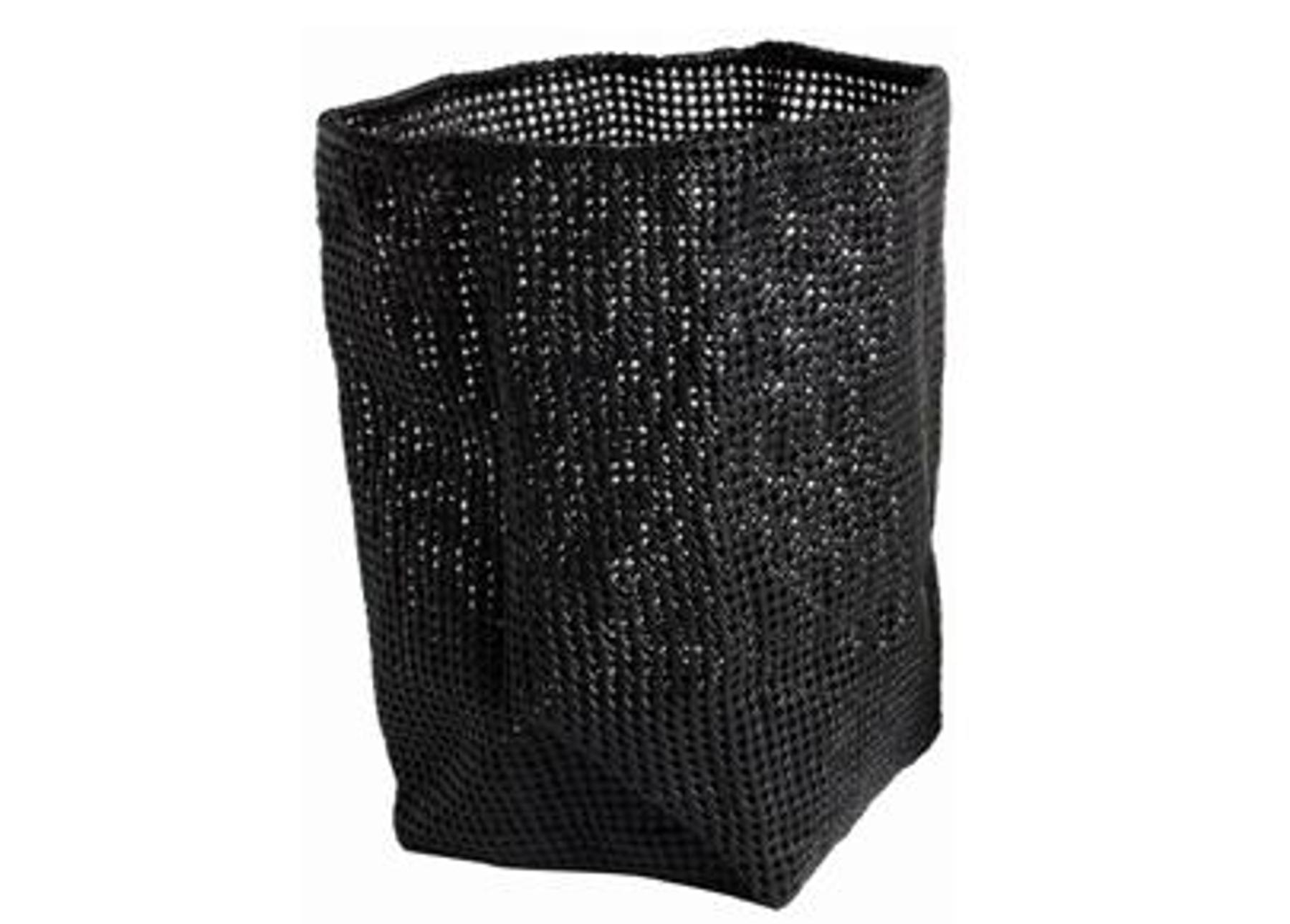 gro er w schekorb tube in schwarz oder wei von m ve tujuh sch ne dinge. Black Bedroom Furniture Sets. Home Design Ideas