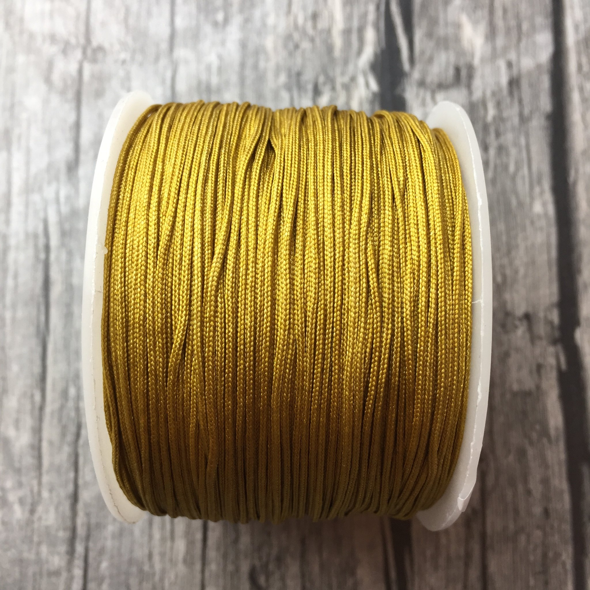 Macramé // Mustard Brown