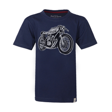 Cafe Racer T-Shirt (navy)