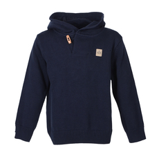 Bars Strick Hooded (navy)