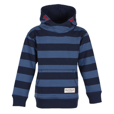 Striped Hooded (navy - shadow blue)
