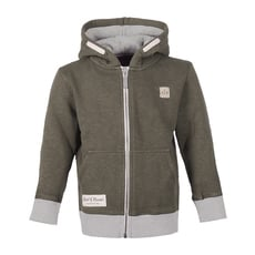 Slub Zip Hooded (olive)
