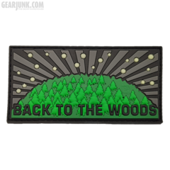 "Patch ""BACK TO THE WOODS"", limitiert"