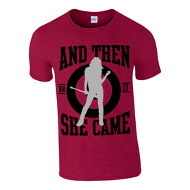 FULL BASEBALL T-SHIRT RED |  | Artikelnummer: 100039