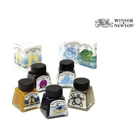 Winsor & Newton Zeichentinte Drawing Ink | 14 ml im Glasflakon | Artikelnummer: CO1005
