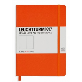 Leuchtturm1917 Notizbuch medium orange | Hardcover - blanko | Artikelnummer: L342963