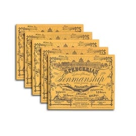 Spencerian Penmanship Set of 5 Copybooks (Englisch) | Platts Roger Spencer - Mott Media | Artikelnummer: 978-0-88062-095-6
