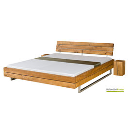 holzbalken bett elfas eiche massiv. Black Bedroom Furniture Sets. Home Design Ideas