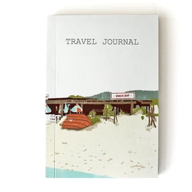 Reisetagebuch von sukie / Travel journal | Strandhütte / Beach Shack | Artikelnummer: sukie_beach_shack