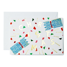 Christmas Cracker Karte | Christmas Cracker Card | Artikelnummer: wrap CRD203