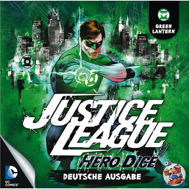 Justice League: Hero Dice • Green Lantern-Set |  | Artikelnummer: 4015566100350