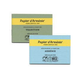 Papier d'Armenie – Duftpapier / Fragranced Paper Strips | Tradition | Artikelnummer: armenie_trad