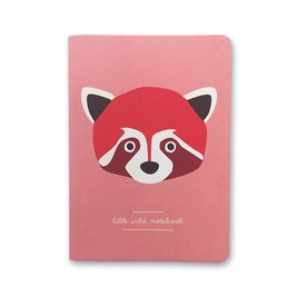 Red Panda Notes | Notizbuch A6, Blanko von pleasedtomeet | Artikelnummer: 7054