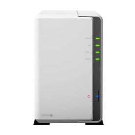 Synology DS216j incl. 2TB (2 x 1TB) WD RED NAS RAID Server Bundle | ab Lager lieferbar! | Artikelnummer: DS216j 2-Bay 2TB WD RED