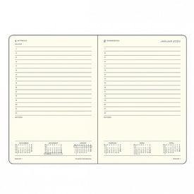 2020 Leuchtturm 1917 Tageskalender Medium / Daily Diary | Deutsche Edition / German Edition | Artikelnummer: 360024_Medium