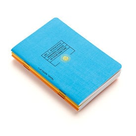 Travel Notes - Notizhefte von Octaevo / Notebooks by Octaevo | Packung à 3 Stück / Pack of 3 | Artikelnummer: octaevo-travel