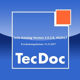 TecDoc TecAlliance Teile Katalog Vollversion 2.0.2.8, Q4.2017 Jahr / Erscheinungsdatum: 31.12.2017  | Alle Windows Systeme 32 & 64bit | Artikelnummer: 000001063