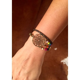 Wickelarmband 'Dream Catcher' |  | Artikelnummer: dream catcher