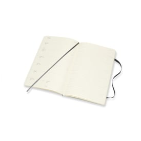 2020 Moleskine Weekly Notebook Large | Softcover, schwarz / black | Artikelnummer: 628929 schwarz_soft