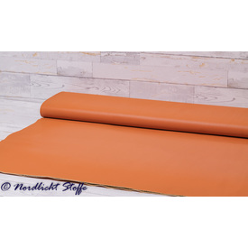 Weiches Kunstleder Unifarbe in orange  - MR1001-037 | Meterware / Verkaufseinheit 25 x 140 cm | Artikelnummer: STO-KUNS-00019-18EUR