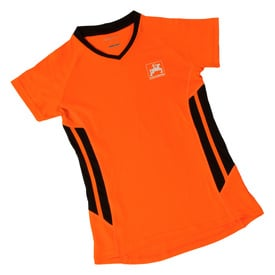 Damen-Sportshirt, orange |  | Artikelnummer: ML417