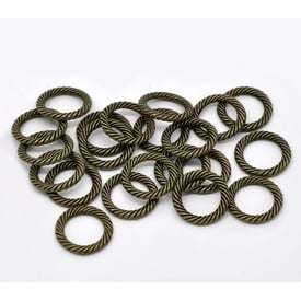 30 Metallringe 13mm  |  | Artikelnummer: B 12800gp