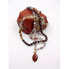 Mala - Kette 'Gemstone Mix' |  | Artikelnummer: gemstone mix