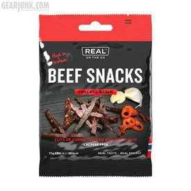 Beef Snacks - Chili and Garlic | Trockenfleisch - Chili und Knoblauch | Artikelnummer: DT9286