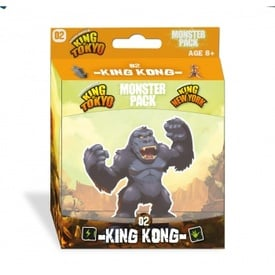 King of Tokyo: Monster Pack - King Kong | Erweiterung | Artikelnummer: 3760175514227