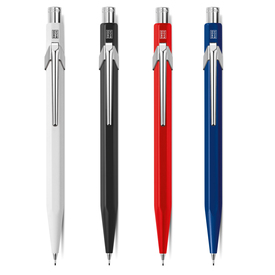 Caran d'Ache Minenhalter 844 / Mechanical Pencil 844 | Weiß / White | Artikelnummer: 844.001-weiss