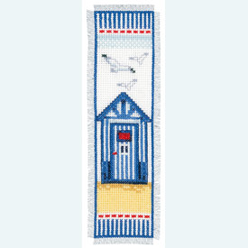 Bladwijzer Beach Shed - kruissteekpakket met telpatroon Vervaco |  | Artikelnummer: vvc-144278