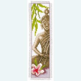 Bladwijzer Buddha - kruissteekpakket met telpatroon Vervaco |  | Artikelnummer: vvc-143911