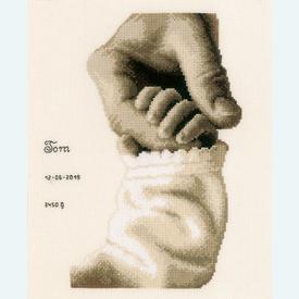 Baby Love - kruissteekpakket met telpatroon Vervaco |  | Artikelnummer: vvc-173017