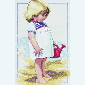 Summer Afternoon - borduurpakket met telpatroon Janlynn |  | Artikelnummer: jl-029.0060