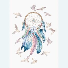 Make your Dreams come True - borduurpakket met telpatroon Letistitch |  | Artikelnummer: leti-945