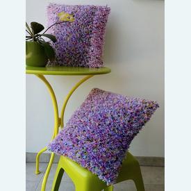 Hippi Cushion Set - set van 2 knoopkussens met telpatroon | met bundelkorting | Artikelnummer: nra-21046-7