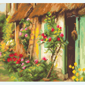 Landscape - borduurpakket met telpatroon Luca-S |  | Artikelnummer: luca-b571
