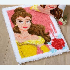 Enchanted Beauty - Disney - knooptapijt Vervaco | Smyrna tapijt met een Disney prinses | Artikelnummer: vvc-168122