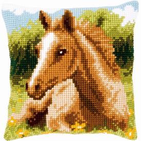 Foal - Vervaco Kruissteekkussen |  | Artikelnummer: vvc-143704