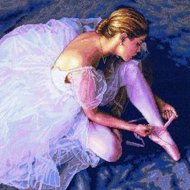 Ballerina Beauty - borduurpakket met telpatroon Dimensions |  | Artikelnummer: dim-35181