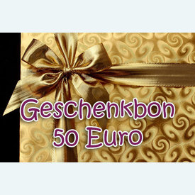 Geschenkbon 50 Euro |  | Artikelnummer: nra-24510-50