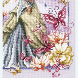 Butterfly Fairy - kruissteekpakket met telpatroon Vervaco |  | Artikelnummer: vvc-148079