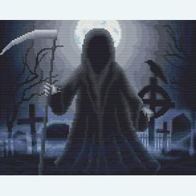 Reaper's Graveyard - Borduurpakket met telpatroon Orcraphics |  | Artikelnummer: orc-2020-02-58